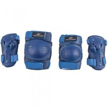 Набор защиты Tech Team Safety line 500, цвет фиолетовый (размеры S, M)