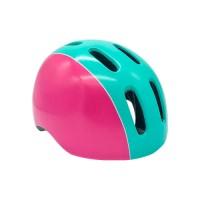 Шлем GRAVITY 400 подростковый розово-бирюзовый