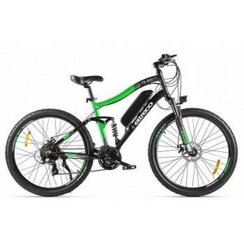 Велогибрид Eltreco FS900 new Черно-зеленый